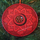 Poinsettia Torchon Bobbin Lace Pattern