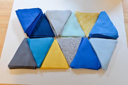 Step 1: Cut Triangles