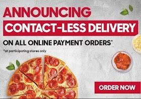 Domino 5 Pizza Menu
