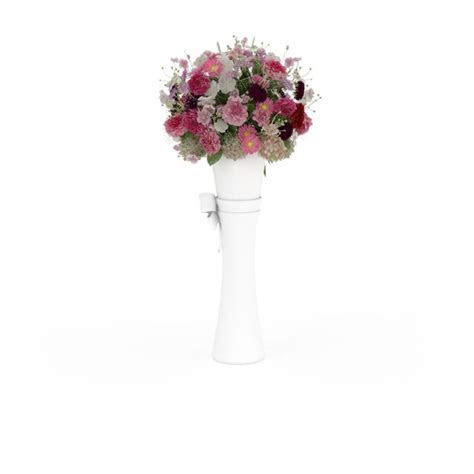 Wedding flower stand column 3d model 3ds max files free