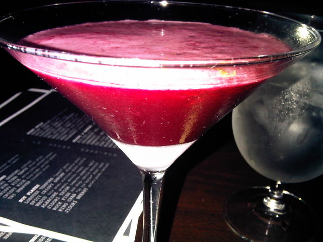 """Blueberry Martini"""