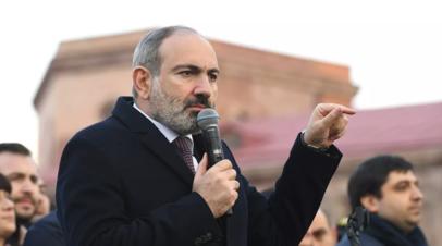 Пашинян заявил, что Давтян назначен начальником Генштаба ВС Армении