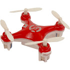 Aww Industries Gnat 4 CH 2.7GHz Radio Control Infrared Mini RC Quadcopter - Red