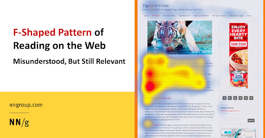 F-Shaped Pattern of Reading on the Web: Misunderstood, But Still Relevant (Even on Mobile)