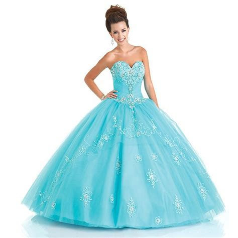Online Get Cheap Baby Blue Sweet 16 Dresses  Aliexpress