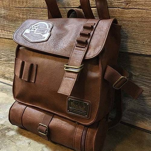 Another cool and functional star wars backpack.