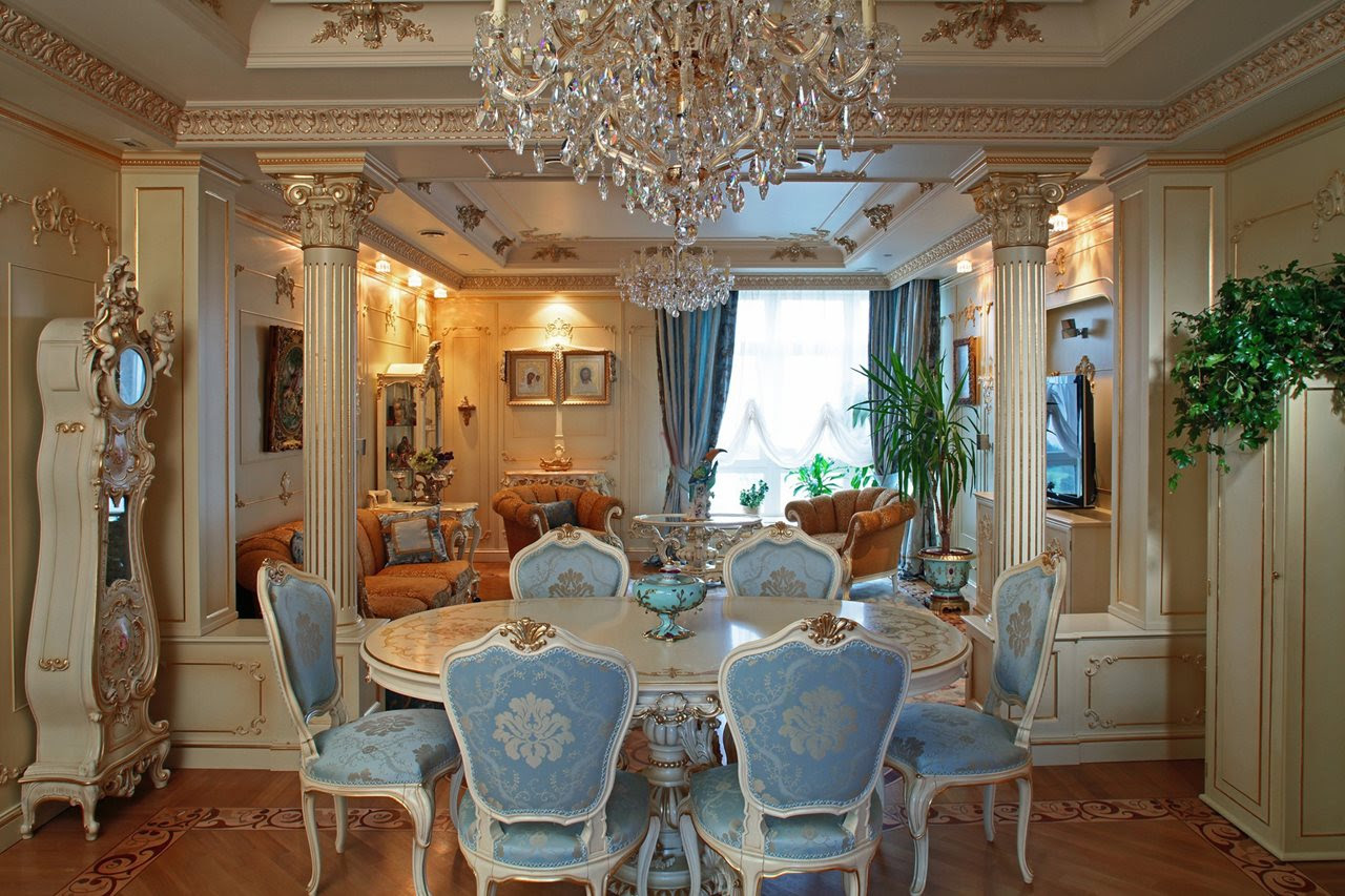 Baroque Style Interior design Dining room