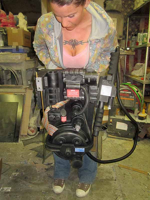 Proton Pack Scale Shot
