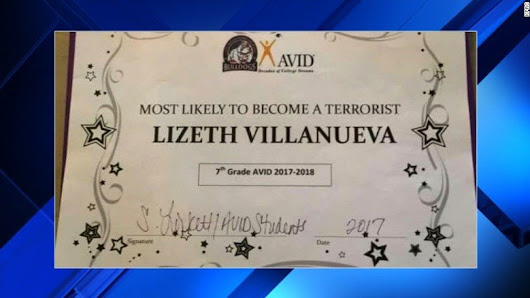Student Awarded 'Most Likely To Be A Terrorist' - WCCB Charlotte