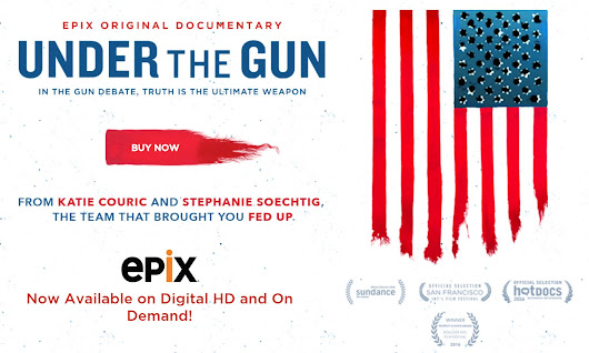 Was Katie Couric's Under the Gun 'Pulled'? EPIX Says No. - iMediaEthics