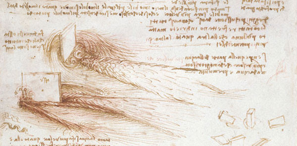 Flujo de agua por Leonardo