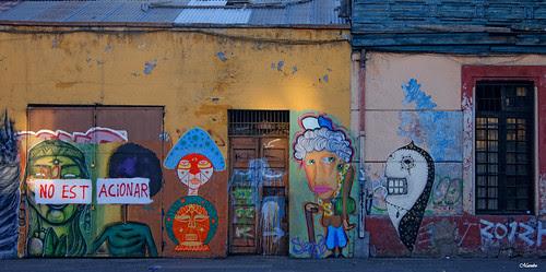Murales de Santiago by Alejandro Bonilla