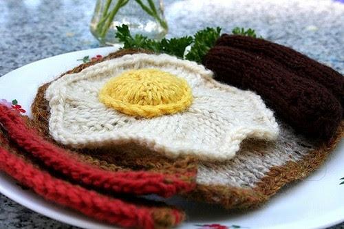yarn eggs and ham