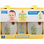 Product of Johnson's Baby Head-To-Toe Wash, 3 pk.