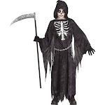 Midnight Grim Reaper Child Costume - Medium
