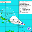Tropical Storm Erika Fires Up