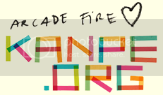 Arcade Fire loves KANPE.COM