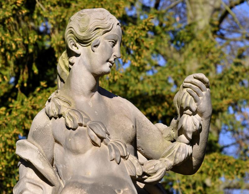 Figur im Park Sanssouci