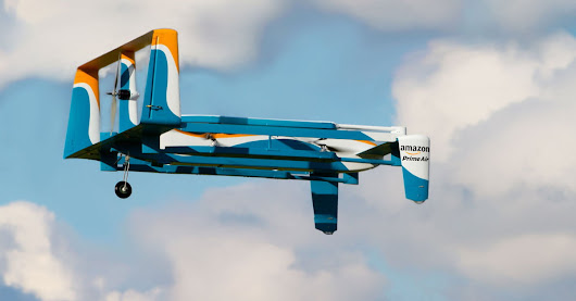 Amazon's Delivery Drone Could Use Lights and Music to Signal Its Arrival | Digital Trends
