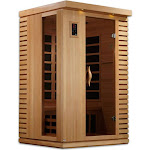 Golden Designs GDI-6273-01 Ultra Low EMF 2 Person Far Infrared Sauna