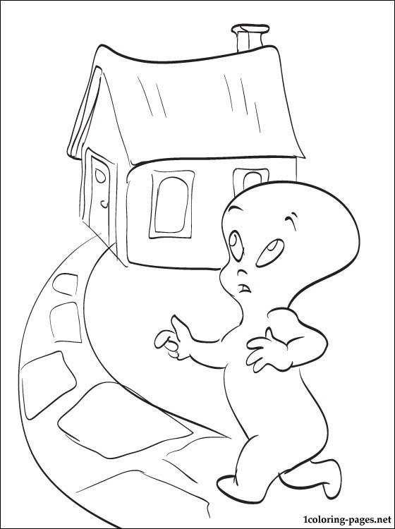 Download Casper The Friendly Ghost Coloring Pages at GetColorings ...