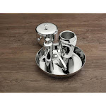 Apple 5 Pc Bar Set Stainless Steel Boxed