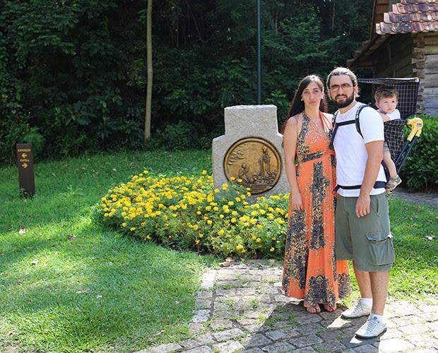 Karina se derrete ao falar do marido: É um paizão. Para o Alexandre e meus dois filhos (Foto: Larissa Moggi)