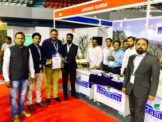 Andaman Tourism Which Participated in The Ongoing TTF at Surat – Andaman Bluebay Holidays | About Tourism Andaman