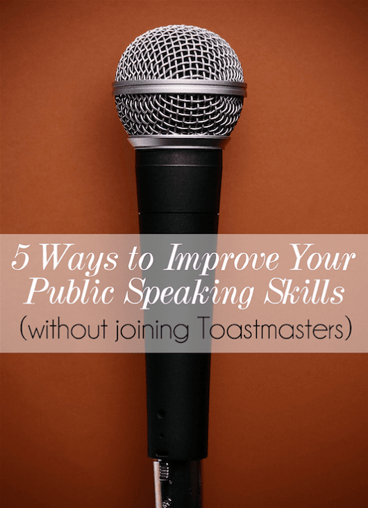 5 Ways to Improve Your Public Speaking Skills