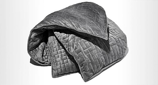 Seeking Better Sleep Under a Weighted Blanket