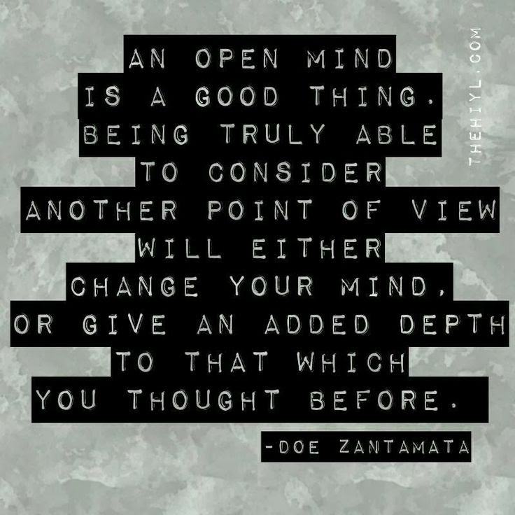Keeping An Open Mind Quotes