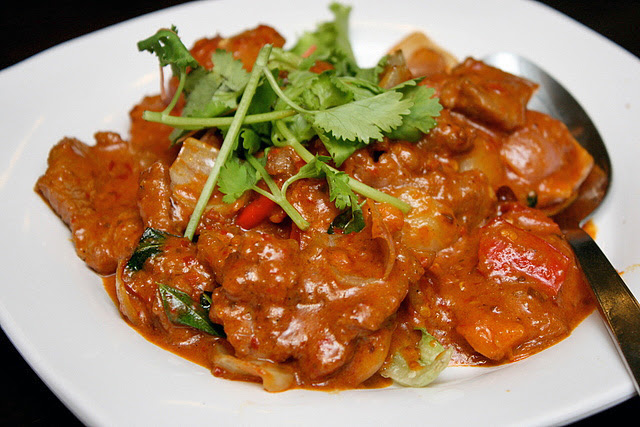 Mystery Meat Dry Curry