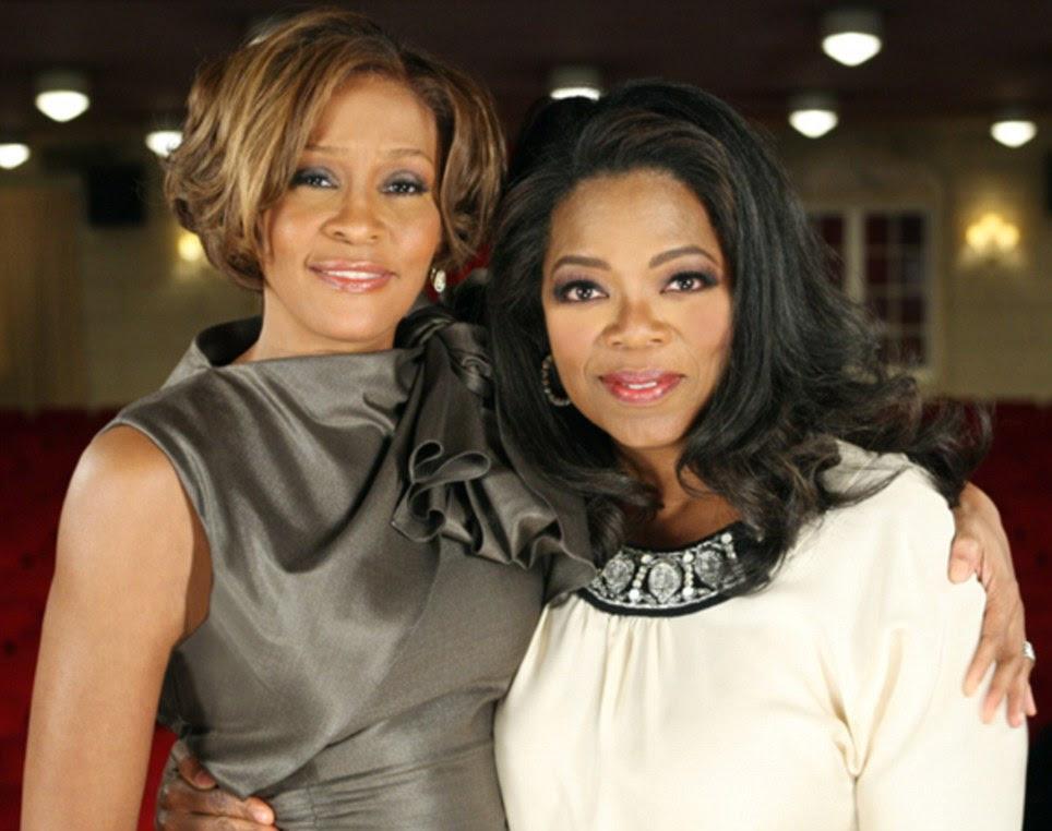 Limpando seu ato: Houston declarou-se livre de drogas para Oprah Winfrey em 2010