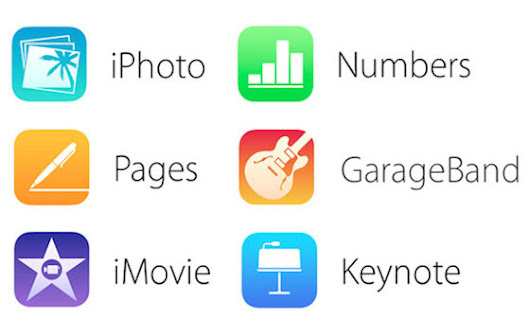 iWork, iMovie and GarageBand are now free for all Apple devices. | MiniBytes
