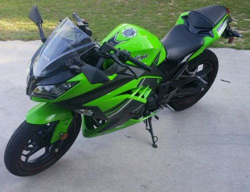2014 Kawasaki Ex300 Special Edition Abs Motorcycles For Sale