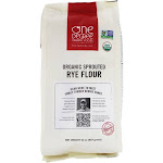 One Degree Organic Foods Organic Sprouted Rye Flour 32 oz.