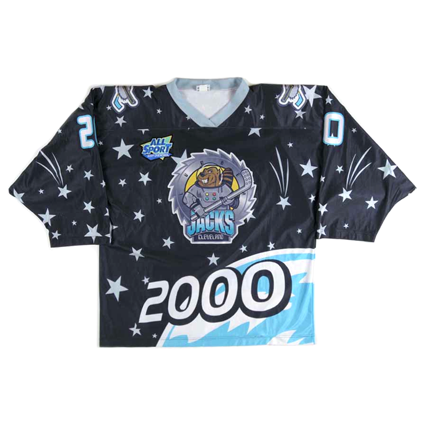 Cleveland Lumberjacks 99-00 jersey, Cleveland Lumberjacks 99-00 jersey