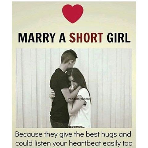 Marry A Short Girl Pictures Photos And Images For Facebook Tumblr