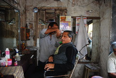 My Barber is a Common Man Like Me .. by firoze shakir photographerno1