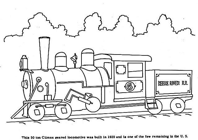 Treno Depoca Disegno Da Colorare Disegni Da Colorare Categoria