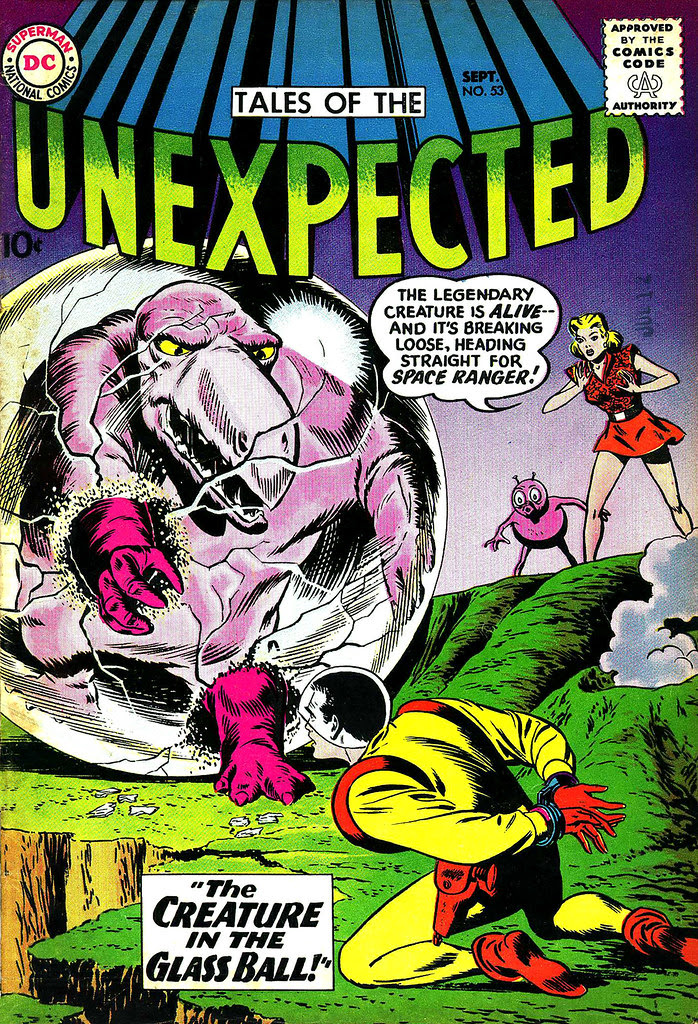 Tales of the Unexpected #53 (DC, 1960) Bob Brown cover