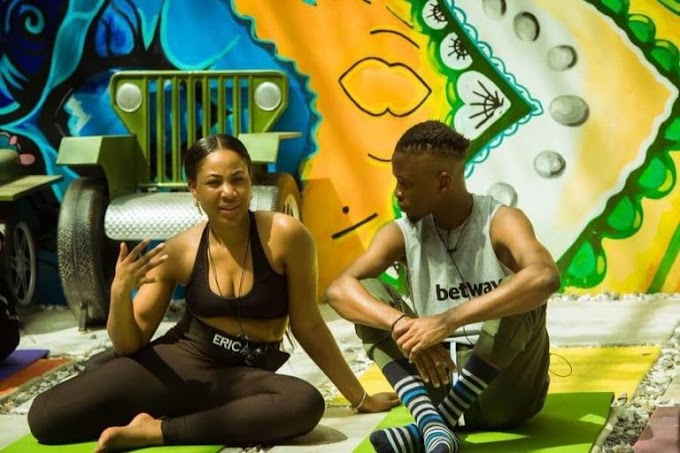 See What Erica Said After Laycon Won BBNaija Reality Show (Video)