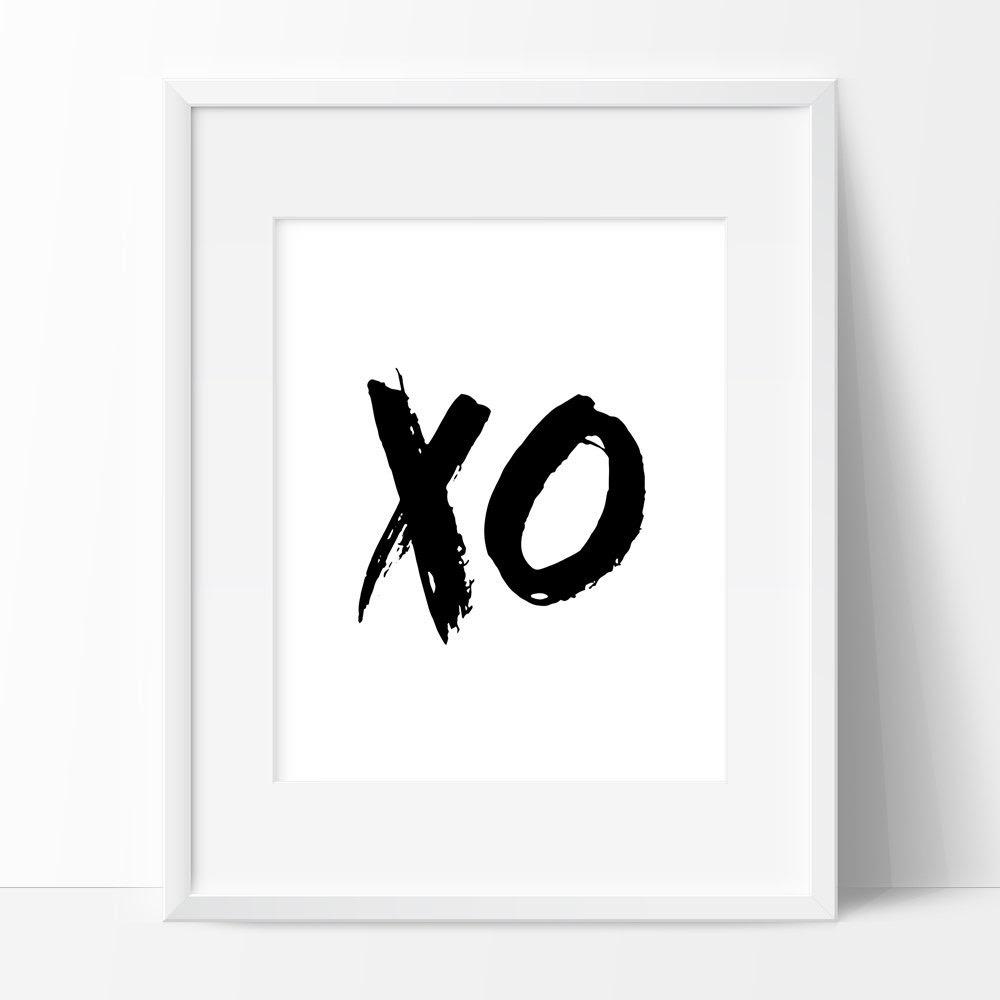 Printable Xo