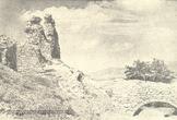 Королевский замок Нялаб на старом фото