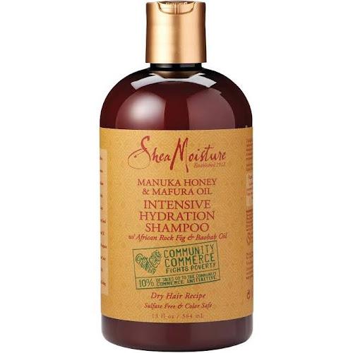 Shea Moisture Intensive Hydration Shampoo, Manuka Honey & Mafura Oil - 13 oz bottle