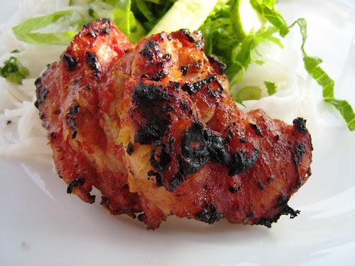 Fermented Bean Curd BBQ Chicken
