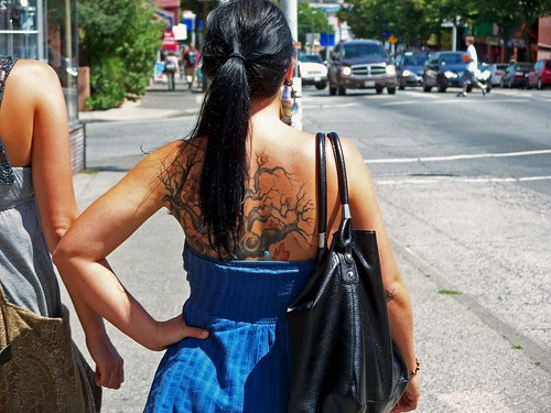 giving tree tattoo. a girl amp; her tree tattoo
