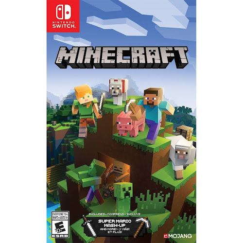 Minecraft Nintendo Switch Video Game Software