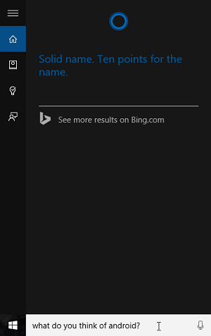 An Interesting Interview With Cortana In Windows 10