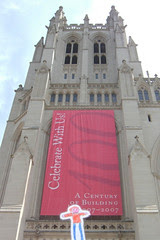 Flat Stanley at the National Cathedral